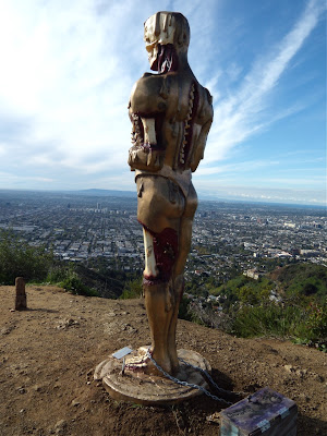 Alternative Oscar Statue Runyon Canyon