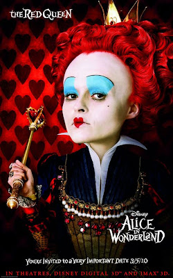 Alice in Wonderland Red Queen poster
