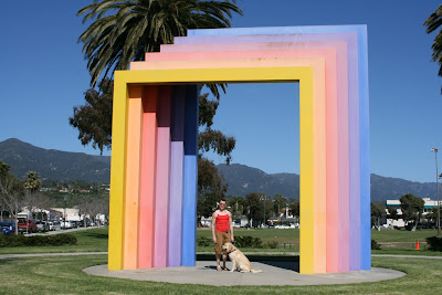 Rainbow Chromatic Gate Santa Barbara