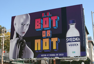 Svedka Vodka bot billboard