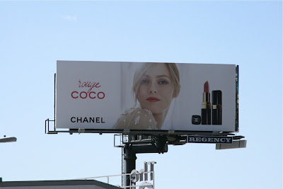 Rouge Coco Chanel billboard