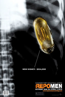 Repo Men Kidney movie poster