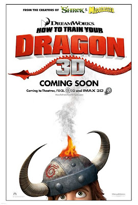 How to train your Dragon teaser poster