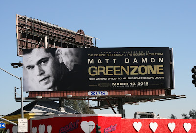Green Zone movie  billboard