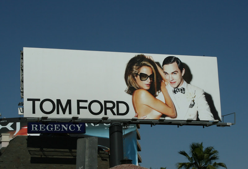 Tom Ford March 2010 fashion billboard