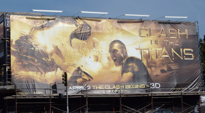 Clash of the Titans Scorpion billboard