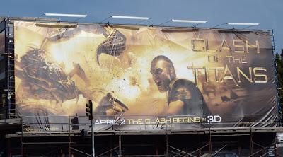 Clash of the Titans Scorpion billboard