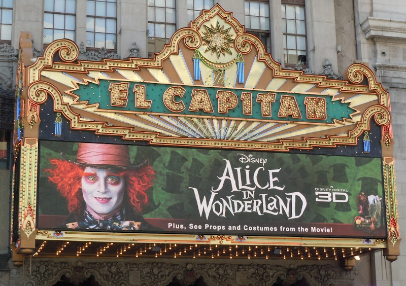 Alice in Wonderland at El Capitan Theatre