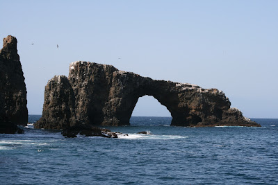 Anacapa Island rock arch