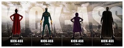 Kick-Ass teaser posters