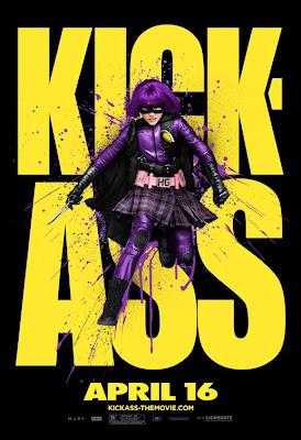 Hit-Girl Kick-Ass poster