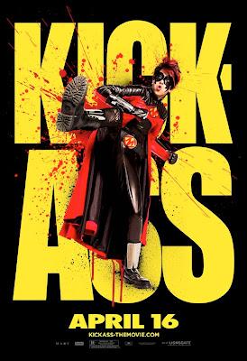 Red Mist Kick-Ass poster
