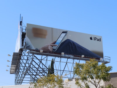 Apple iPad billboard