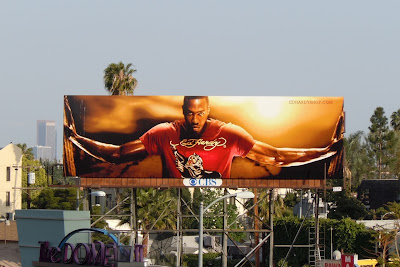 Ed Hardy fashion billboard