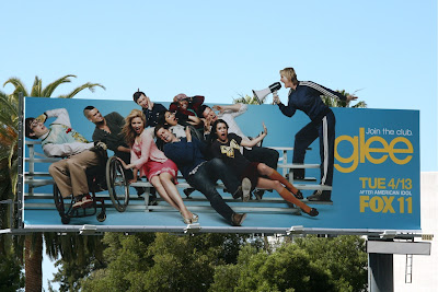 Sue Sylvester Glee TV billboard