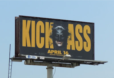 Kick-Ass Big Daddy film billboard