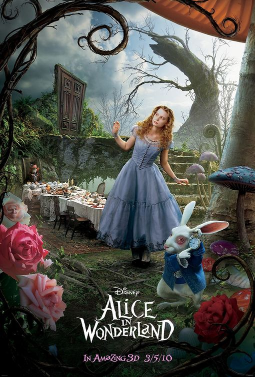 Fantastic costumes from Disney's Alice in Wonderland movie ...