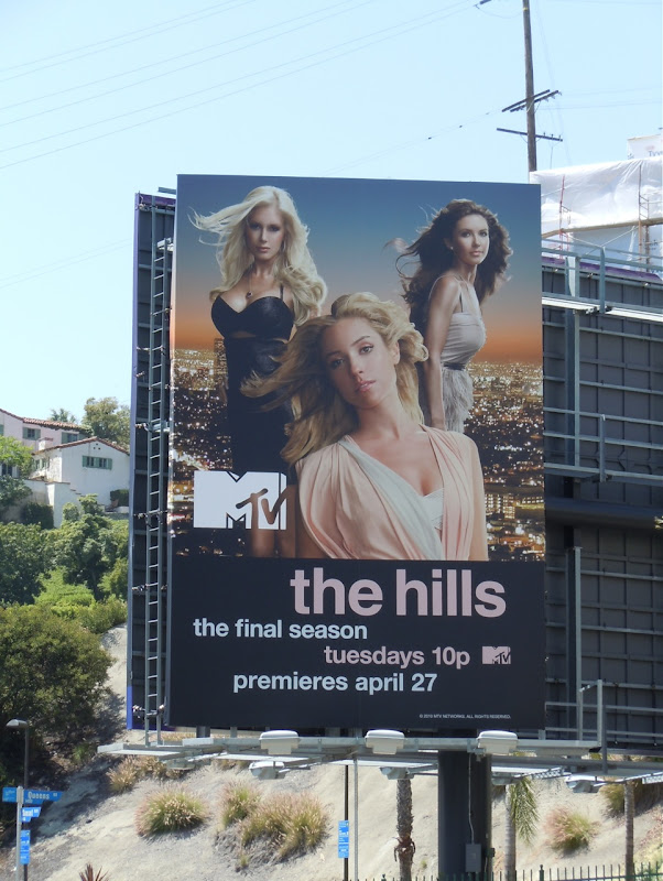 The Hills Final Season MTV billboard
