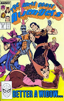 The West Coast Avengers #44 cover