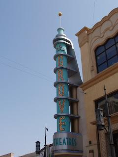 The Grove cinema sign