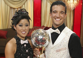 Kristi Yamaguchi & dance partner Mark Ballas - Season six Dancing with the Stars winner.  Image courtesy of ABC.