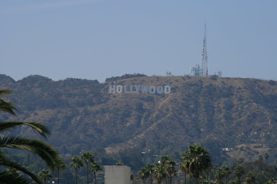 The world famous Hollywood sign on a sunny L.A. day