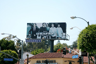 Entourage season 5 billboard Sunset Strip