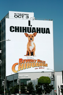Disney's Beverly Hills Chihuahua billboard