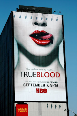 Trueblood TV series billboard