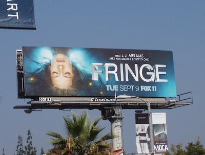 Fringe TV series billboard