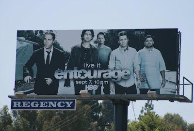 Entourage season 5 cast billboard