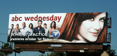 Private Practice season 2 TV billboard
