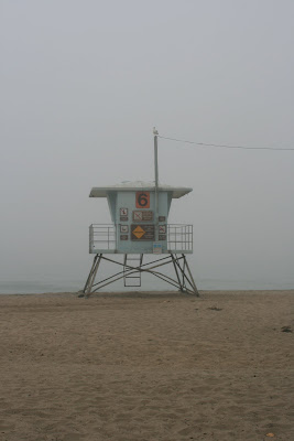 Lifeguard hut 6 at Sycamore Cove