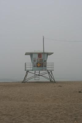 Lifeguard hut 6 at Sycamore Cove