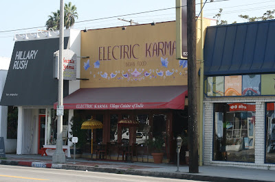 Electric Karma Indian restaurant on West 3rd Street
