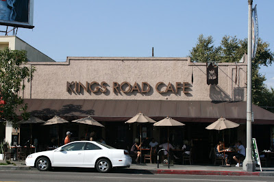 Kings Road Cafe on Beverly Blvd