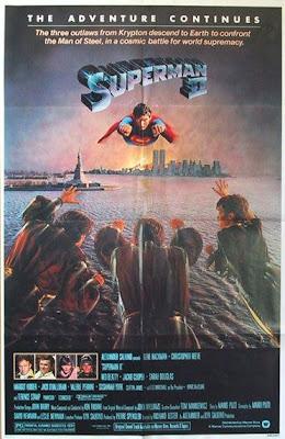 Superman II movie poster