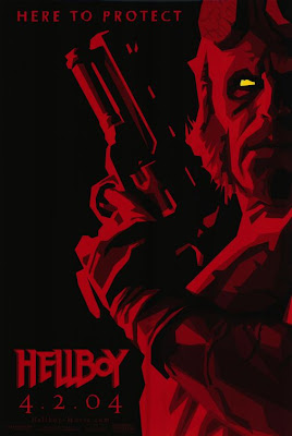 Hellboy comic artwork movie poster