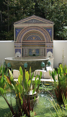 The East Garden at The Getty Villa, Mailbu
