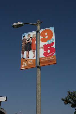 9 to 5 Musical banners on the streets of L.A.