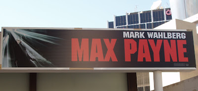 Max Payne movie billboard