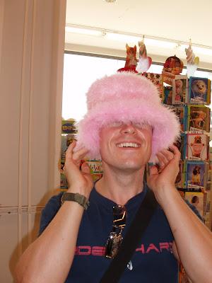 Halloween hat - Pink Fluff