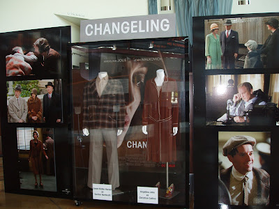 Changeling movie costumes on display at Arclight Hollywood