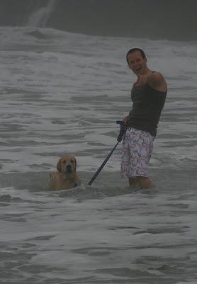 Pacific ocean puppy