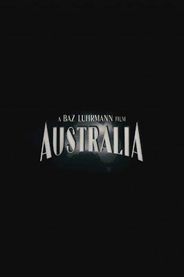 baz Lurmann's Australia teaser movie poster