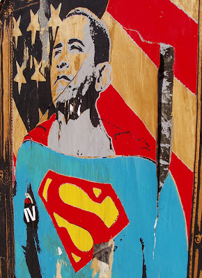 Super President Obama