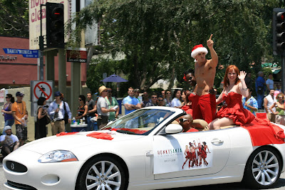WEHO Pride Hunky Santa & the Candy Cane Dancers