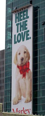 Marley &amp; Me billboard poster