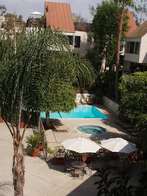 West Hollywood condo pool