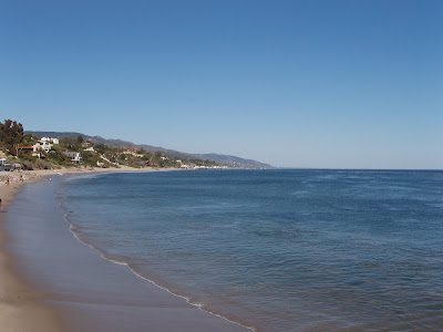 Paradise Cove in Malibu